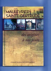 Livre de Maulevrier Ste Gertrude