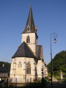 Maulevrier Eglise de Ste gertrude