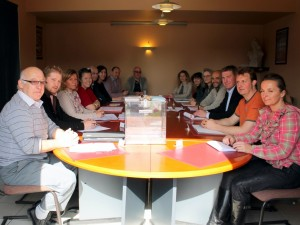 Maulevrier Conseil Municipal a table
